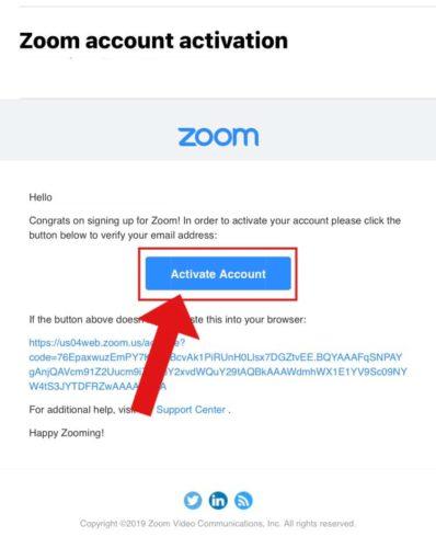 zoomアカウント