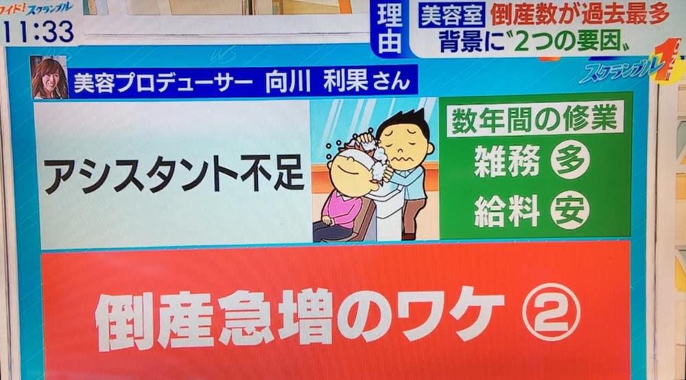 テレビ朝日ワイドスクランブル向川利果出演